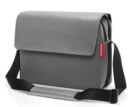 reisenthel courierbag 2 Umhängetasche Tasche canvas grey grau UU7050 – Bild 2