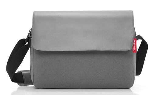 reisenthel courierbag 2 Umhängetasche Tasche canvas grey grau UU7050 – Bild 1