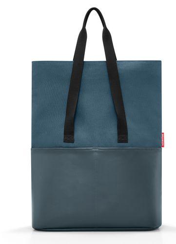 reisenthel foldbag Umhängetasche Tasche canvas blue blau UR4061 – Bild 3