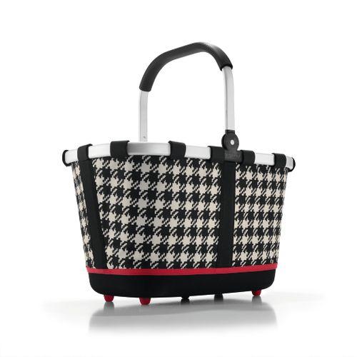 reisenthel SET carrybag 2 Einkaufskorb Korb fifties black BL7028 + Cover schwarz BP7003 – Bild 2