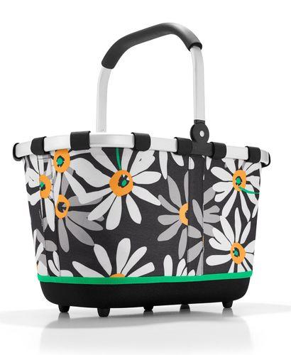 reisenthel SET carrybag 2 Einkaufskorb Korb margarite BL7038 + Cover schwarz BP7003 – Bild 2