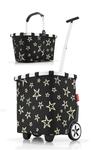 reisenthel Set carrycruiser OE7046 + carrybag BK7046 Einkaufstrolley Einkaufskorb stars 001