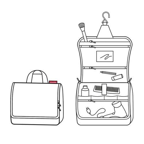 reisenthel toiletbag XL Kosmetiktasche Waschtasche mixed dots WO7051 – Bild 3