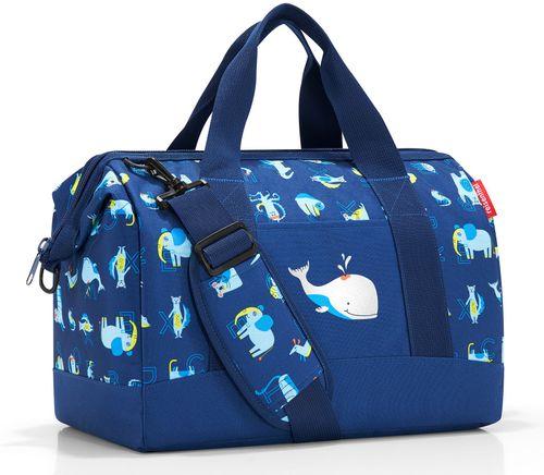reisenthel allrounder M kids Reisetasche Tasche Sporttasche abc friends blue blau IX4066 – Bild 1