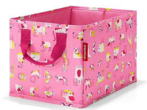 reisenthel storagebox kids Aufbewahrungskorb Korb Kiste Box abc friends pink IY3066 – Bild 1