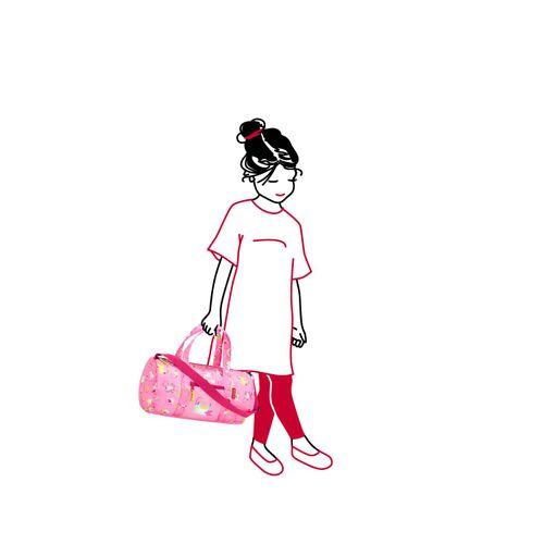 reisenthel mini maxi dufflebag S kids Tasche Reisetasche abc friends pink IH3066 – Bild 3
