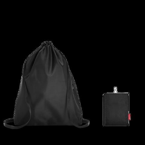 reisenthel mini maxi sacpack Rucksack Kinderrucksack Turnbeutel black schwarz AU7003 – Bild 4
