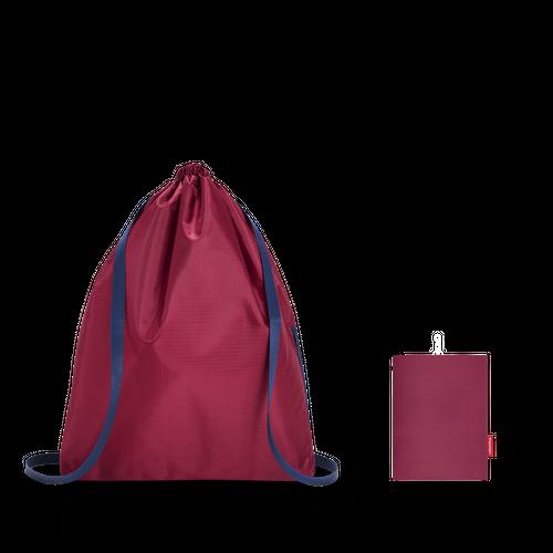 reisenthel mini maxi sacpack Rucksack Kinderrucksack Turnbeutel dark ruby rot AU3035 – Bild 4