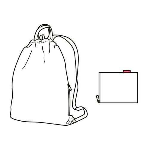 reisenthel mini maxi sacpack Rucksack Kinderrucksack Turnbeutel dark ruby rot AU3035 – Bild 5