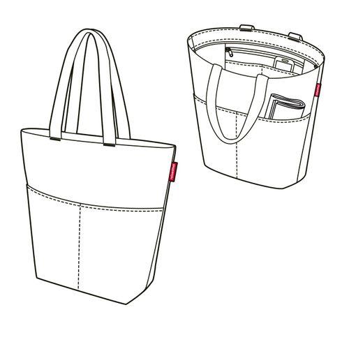reisenthel cityshopper 2 Handtasche Einkaufstasche Tasche dots ZE7009 – Bild 2