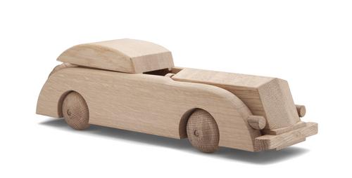 ROSENDAHL Kay Bojesen Limousine Auto Holzauto 32 cm Eiche Holz 39219 – Bild 1