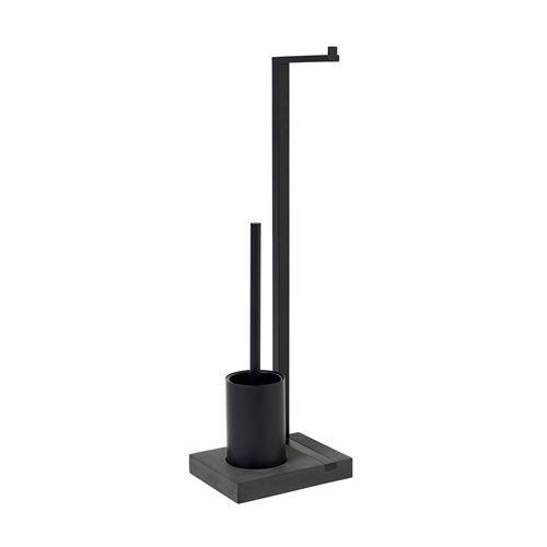 BLOMUS Toilettengarnitur MENOTO Bürstengarnitur Toilettenbutler schwarz 69151 – Bild 2
