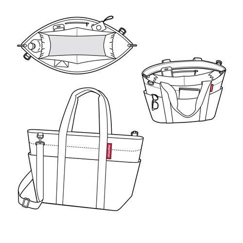 reisenthel Tasche Einkaufstasche Damentasche multibag mixed dots MZ7051 – Bild 5