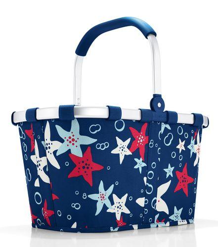 reisenthel SET carrybag Einkaufskorb Korb aquarius BK4050 + Cover blau BP4005 – Bild 2