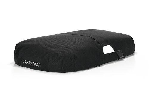 reisenthel SET carrybag Einkaufskorb Korb patchwork magenta BK3042 + Cover schwarz BP7003 – Bild 3