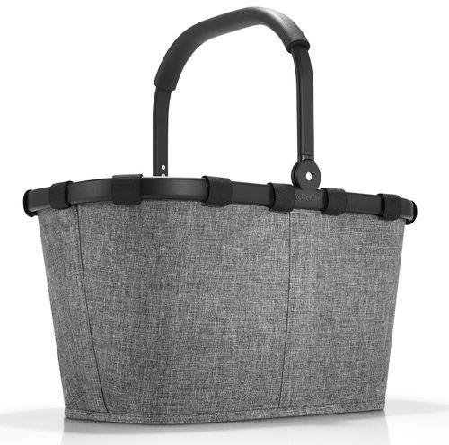 reisenthel Einkaufskorb carrybag frame twist silver Korb Tasche BK7052 – Bild 1