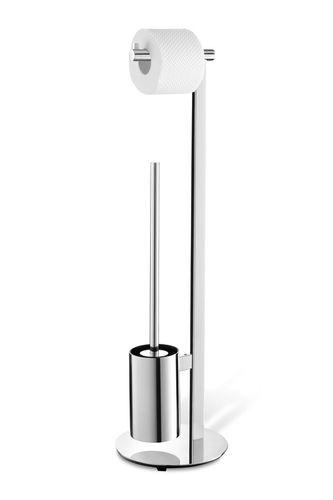 ZACK Edelstahl WC Garnitur Toilettengarnitur Toilettenbutler SCALA 40088