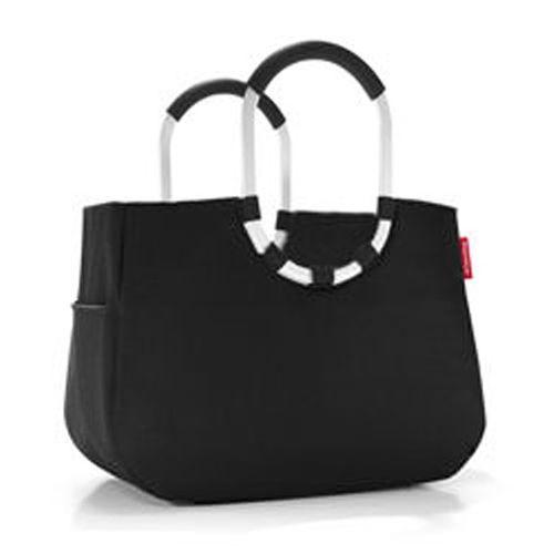 reisenthel loopshopper Tasche L schwarz Einkaufstasche Korb OR7003