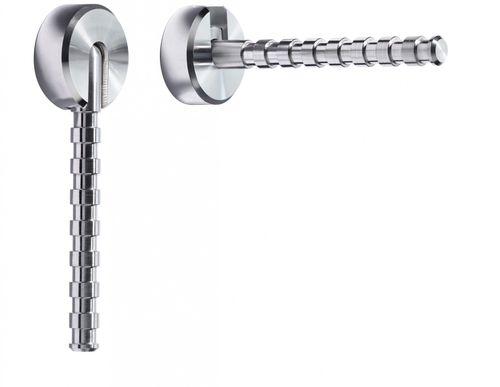 Aluminium Klapp-Garderobe PINOCCHIO Klapphaken Wandhaken ODIN KH7I
