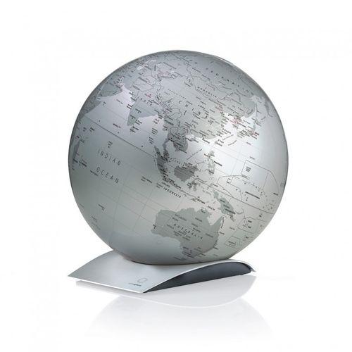 Globus Capital Q silber Weltkugel Weltglobus Globen ATMOSPHERE