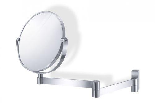Edelstahl Wandspiegel LINEA Badspiegel Kosmetikspiegel ZACK 40109