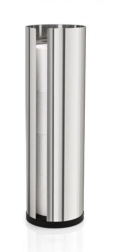 BLOMUS Edelstahl Toilettenpapierhalter NEXIO, WC-Rollenhalter 66658