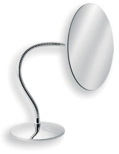 Kosmetikspiegel Standspiegel Badspiegel verchromt von Lineabeta