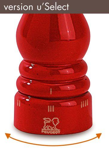 Peugeot Salzmühle Paris 22 cm rot mit Uselect 23614 – Bild 2