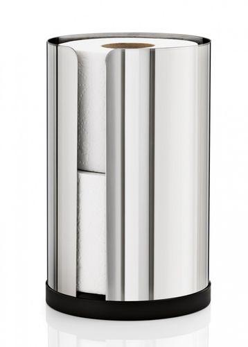 Blomus Edelstahl Toilettenpapierhalter Nexio, WC-Rollenhalter 66657
