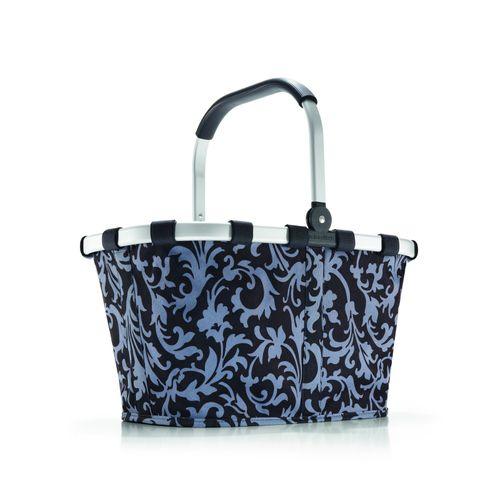 REISENTHEL Einkaufskorb Korb CARRYBAG barock navy blau BK4001 – Bild 1