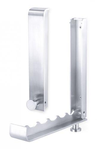 Edelstahl Klapp-Garderobe CANZO Garderobenhaken ZACK 50680 – Bild 1