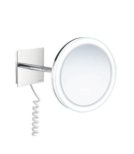 SMEDBO Badspiegel Kosmetikspiegel, LED beleuchtet Chrom FK475