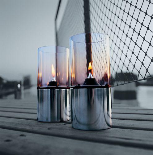 STELTON Glasschirm Öllampe klar, Gartenbeleuchtung, Oellampe Geschenk 1005 – Bild 2