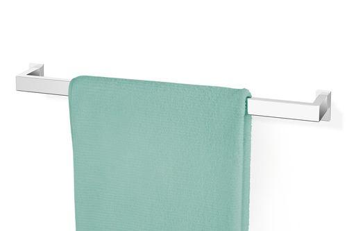 ZACK Edelstahl Handtuchhalter LINEA hochglänzend 60 cm, Handtuchstange 40034