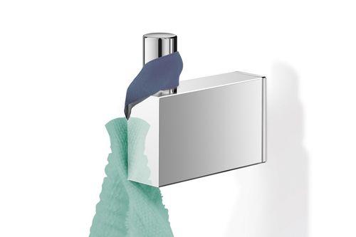 ZACK Edelstahl Handtuchhaken LINEA hochglänzend 5 cm Handtuchhalter Haken 40036