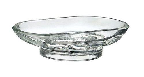 SMEDBO Ersatzseifenschale mit klarem Glas VILLA Seifenschale Ersatzglas V248G