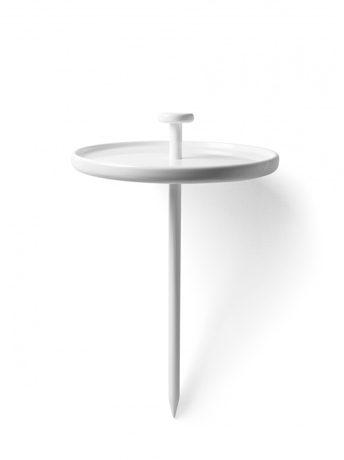 menu pin table beistelltisch rund tragbar tisch. Black Bedroom Furniture Sets. Home Design Ideas
