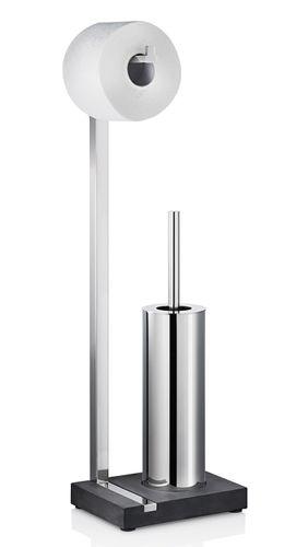 BLOMUS Edelstahl Toilettengarnitur MENOTO glänzend WC-Bürste Garnitur 68820