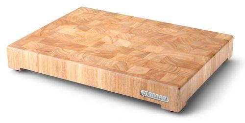 CONTINENTA Hackblock Schneidebrett Holz geölt 4008 – Bild 1