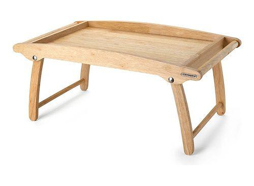 CONTINENTA Betttablett Serviertablett Bett Tisch klappbar Tablett Gummibaum 3061 – Bild 2