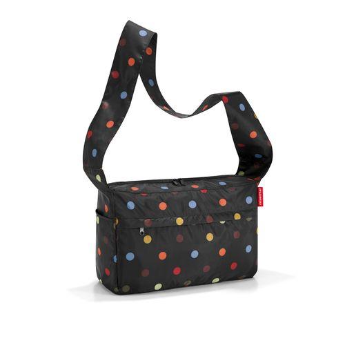 reisenthel mini maxi citybag Schultertasche faltbar dots AL7009 – Bild 1