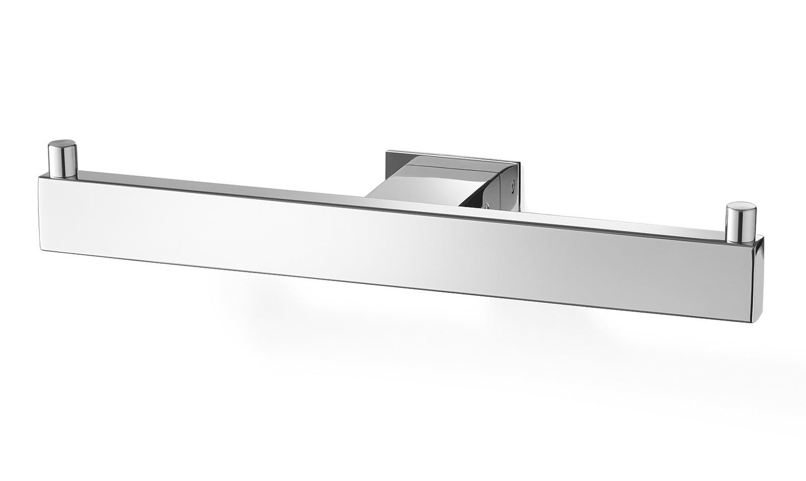 zack edelstahl doppel toilettenpapierhalter wc rollenhalter linea poliert 40022 bad bad. Black Bedroom Furniture Sets. Home Design Ideas