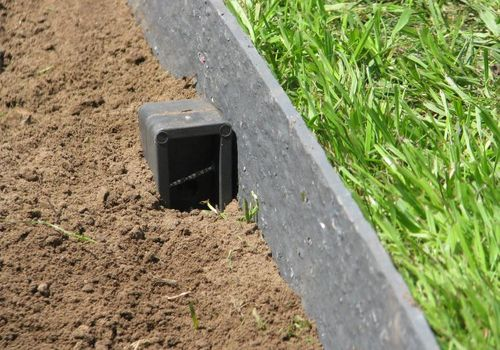 Rasenkante 12,5 m Beetumrandung Beeteinfassung Mähkante Profilband 14 cm hoch ECOLAT – Bild 9