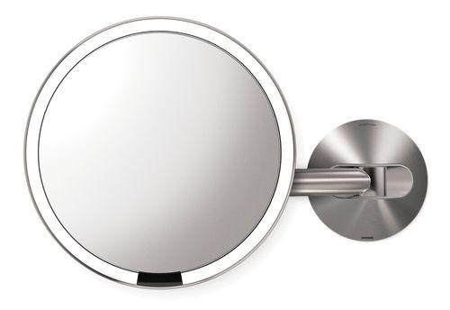 simplehuman Sensorspiegel aufladbar mit Akku Kosmetikspiegel Wandspiegel ST3002