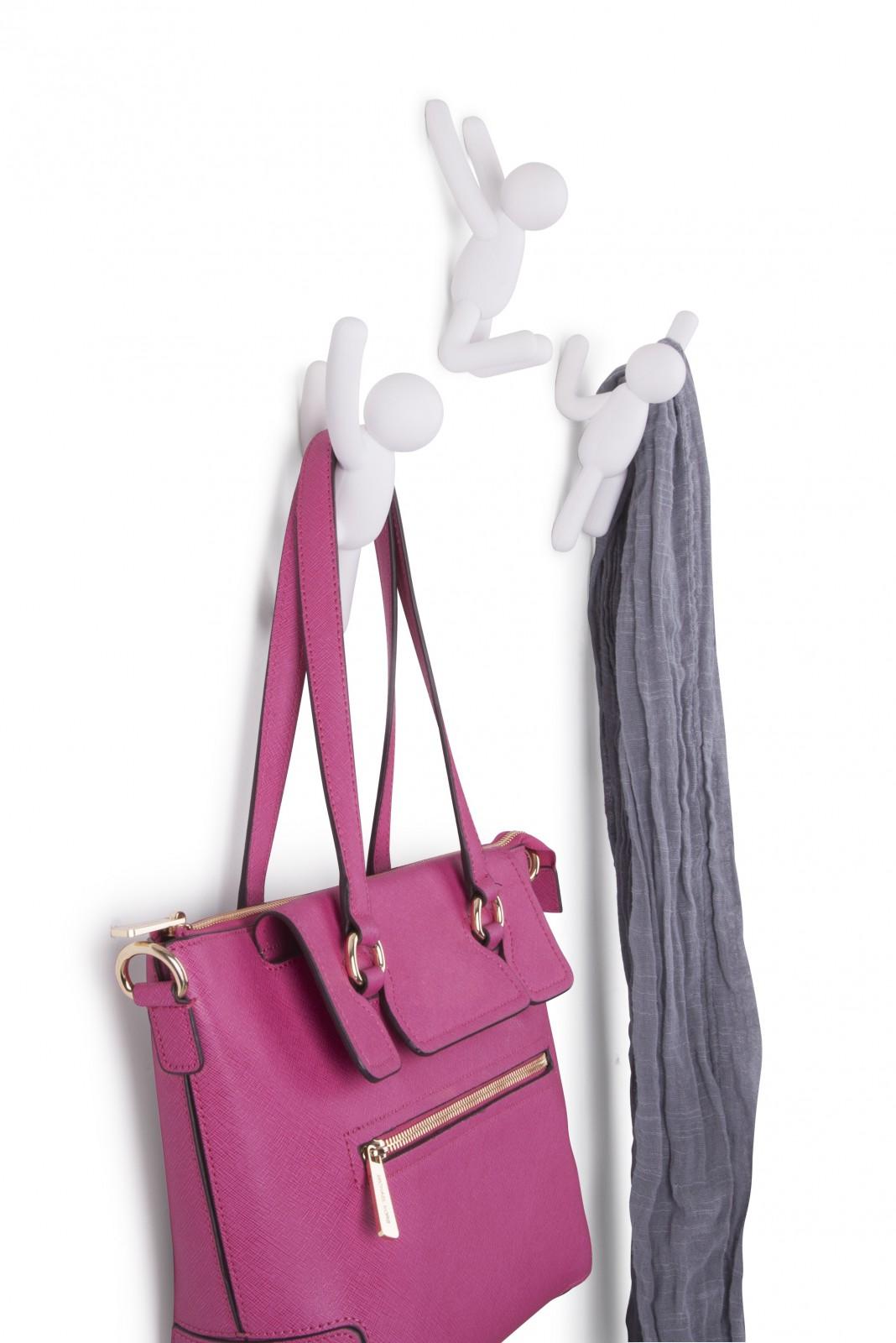 Umbra buddy hook 3er set kletterm nnchen garderobenhaken for Garderobe umbra