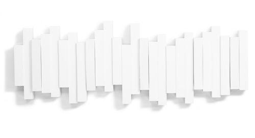 UMBRA STICKS MULTI HOOK 5er Garderobenleiste Hakenleiste weiß 318211-660 – Bild 2