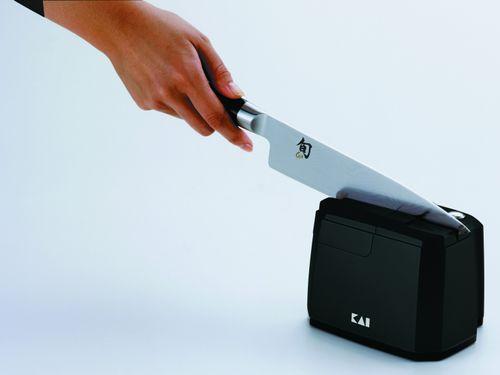 KAI SHUN Messerschärfer + Poliereinheit Messerschleifer AP-118S – Bild 2