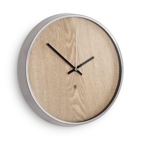 UMBRA MADERA WALL CLOCK Wanduhr 32 cm Uhr natur 118413-392 – Bild 1