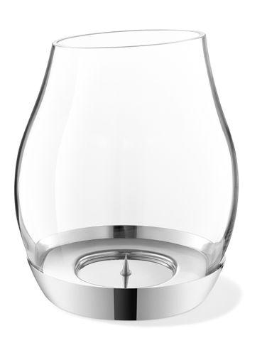 ZACK Edelstahl Windlicht PERA 20 cm Kerzenhalter 40704 – Bild 2