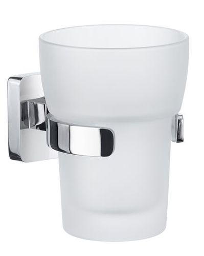 SMEDBO ICE Glas Zahnputzbecher Zahnputzbecherhalter Badbecher OK343